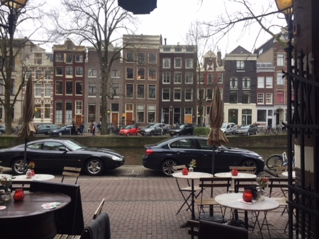 View from an Amsterdam café