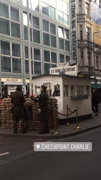 Checkpoint Charlie- Berlin!